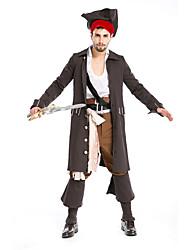 Costumes de Cosplay / Costume de Soirée Déguisements Thème Film/TV Fête / Célébration Déguisement Halloween Blanc / Noir Couleur Pleine