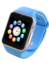 M007 Wearable 1.54 Touch Screen Smart Watch w/ Bluetooth & Pedometer Heart Rate - Blue