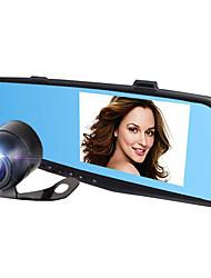 best-seller de 4,3 pouces HD seul miroir bleu nouvelle 1080p rétroviseur conduite enregistreur
