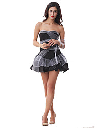 Costumes Movie & TV Theme Costumes / Vampires Halloween Black Patchwork Terylene Dress / More Accessories