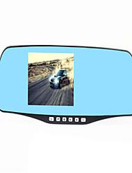 der neue 4,3-Zoll-Ling Tong 2248 x20 Dual-Objektiv Recorder-Nachtsicht Weitwinkel Rückspiegel treibender Recorder