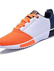 Running Shoes / Casual Shoes Men's Anti-Slip / Wearproof Low-Top Leisure Sports Black / Blue / OrangeRunning/Jogging /