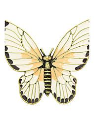 novas próximos broches forma de borboleta de esmalte