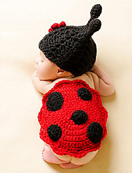 Newborn Prince Vintage Photography Prop Birthday Knitting Beetle Hat and Pants(0-6Month)