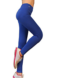 Women's Elastic Long Sports Pants Fitness Running Leggings Quick Dry Tights