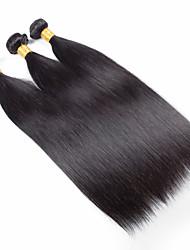 Menschenhaar spinnt Brasilianisches Haar Gerade 18 Monate 3 Stück Haar webt