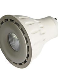 8w 24Degree GU10 LED Spotlight MR16 1 COB 550 lm Warm White / Cool White Dimmable AC 220-240 / AC 110-130 V 1 pcs