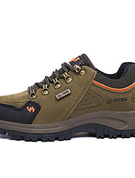 Men's Sneakers Comfort Synthetic Fall Winter Casual Outdoor Hiking Comfort Low Heel Orange Brown Blue Dark Green Under 1in