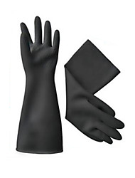 Anti-chemical Industrial Rubber Non-slip Waterproof Gloves