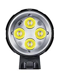 Bike Light Headlamps LED Rechargeable / Super Light 1600 Lumens Battery LED Black Cycling/Bike-Others