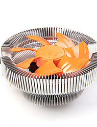 cpu radiateur ventilateur de refroidissement multi-plateforme ventilateur silencieux