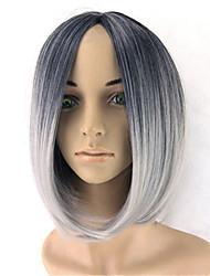 cosplay perruque Perruques pour femmes Gris Costume Perruques Perruques Cosplay