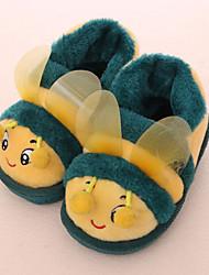 Unisex Slippers & Flip-Flops Winter Slippers / Round Toe Fleece Casual Flat Heel Animal Print Others