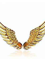 Angel Wings Pure Metal Car Tail Label Decorative Metal Paste