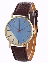 Unisex Girl Quartz Watch Clock Women Leather Casual Dress Women's Wristwatch Cool Watches Unique Watches