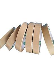 vier Kraftpapierbänder pro Packung