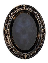 1pc sonance rétro hallowmas intéressants noël pratique conduit lampe de miroir douzième