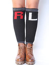 Women's Winter Knitting Warm Wool Fashion Right And Left Leg Warmers