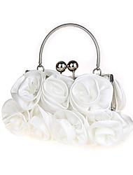 Women Flower Silk / Chiffon / Satin Formal / Event/Party / Bridesmaid /Bride Wedding Evening Bag