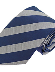 Men Casual Polyester Silk Neck Tie  Business Wedding