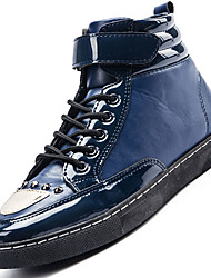Men's Boots Spring / Fall / Winter Work & Safety / Comfort / Combat Boots PU Outdoor / Athletic / Casual Black / Blue /