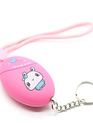 KiVOS KA04 Personal Anti Wolf Alarm The Women'S Outdoor Self-Defense Equipment with Key Ring