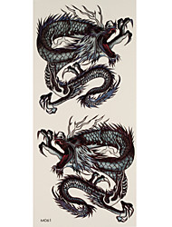 1 Tattoo Aufkleber Tier Serie dragon Flash-Tattoo Temporary Tattoos