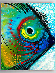 Oil Painting Poeple's Eye Hand Painted Canvas Painting with Stretched Framed Ready to Hang