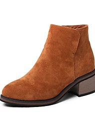 Women's Boots Fall / Winter Riding Boots / Fashion Boots / Comfort / Combat Boots Patent Leather / Leatherette