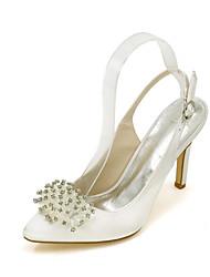 Women's Heels Spring / Summer / Fall Heels / Pointed Toe Silk Wedding / Party & Evening