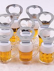 Simulation Acrylic Beer Mug Opener Fridge Magnet Creative Gifts