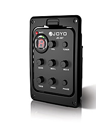 Details about  JOYO JE-307 5 Band EQ Equalizer Preamp Acoustic Guitar Pickup with Digital Tuner