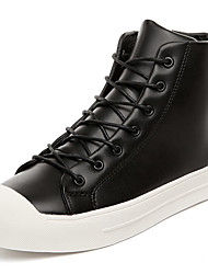 Men's Fashion Shoes Casual/Party & Evening/Youth Breathable Microfibre Middle-top Board Punk Shoe