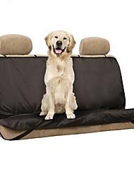 Собака Чехол для сидения автомобиля Животные Коврики и подушки Твердый Водонепроницаемость Складной Черный