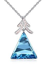 Ожерелье Ожерелья с подвесками Бижутерия Для вечеринок Мода Сплав Серебряный 1шт Подарок
