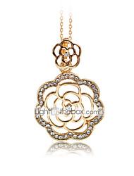 Damen Anhängerketten Aleación Strass Rose Gold überzogen Imitation Diamant Modisch bezaubernd Golden Schmuck Alltag Normal 1 Stück