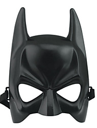 Hot Halloween Mask Adult Black Costume Ball Carnival Dressing Mask Male Cool On Half a Face Clothing Equipment