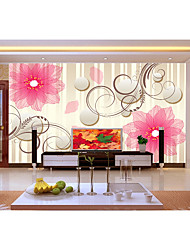 Solid Wallpaper For Home Luxury Wall Covering  Non-woven paper MaterialAdhesive
