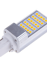 7W E14 / G23 / G24 / E26/E27 Luces LED de Doble Pin T 25 SMD 5050 500-700 lm Blanco Cálido / Blanco Fresco DecorativaAC 85-265 / AC