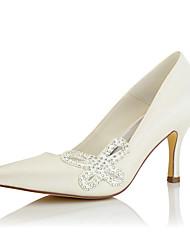 Women's / Fall Heels / Pointed Toe Silk Wedding / Party & Evening / Dress Stiletto Heel