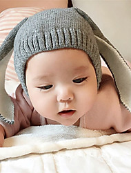 Kid's Cute Rabbit Ears Knitting Hat