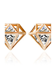 EarringStud Earrings Bicone Shape / Triangle ShapeJewelry 1 pair Fashionable / Hip-Hop / Rock Acrylic