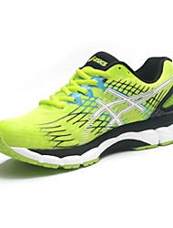 Running Shoes Asics Gel Nimbus 17 Mens Running Trainers Sneakers Athletic Shoes Black Green