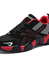 Unisex Athletic Shoes Spring / Summer/Fall/Winter Comfort Tulle Athletic / Casual Big Size Blue/Red/White Running