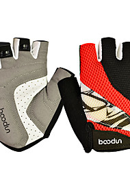 Cycling Gloves For Men and Women Slip Resistant Breathable Mesh Half Finger Mountain Bike Riding Sports Gloves 1 Pair