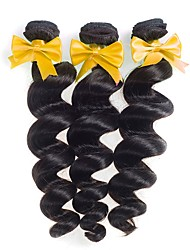 Malaysian Virgin Hair Loose Wave 3 Bundles Wet And Wavy Virgin Malaysian Human Hair Weave Hair Extensions