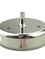 Rewin nástroj legovaných ocelí skleněné otvory otvírák díra velikosti 105mm 2ks / box
