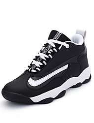 Men Women Sneakers Spring / Fall / Winter Comfort Leather / Athletic / Lace-up Red / White / Tennis / Basketball