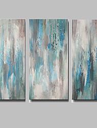 IARTS Blue Art Wall Decor Handmade Paintings Acrylic Designs Abstract Painting Canvas