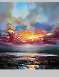IARTS®Abstract colorful Landscape Scenery Oil Painting